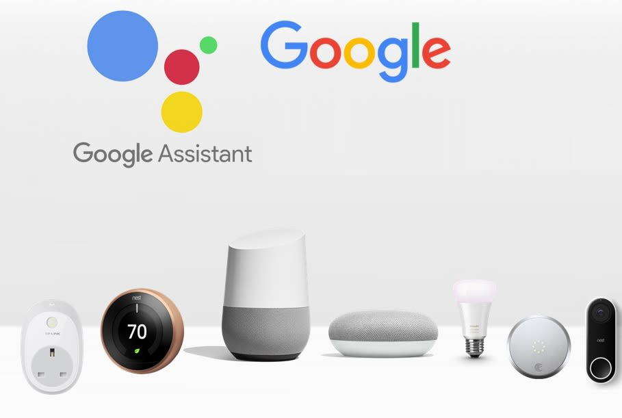 google home assistant compatible devices