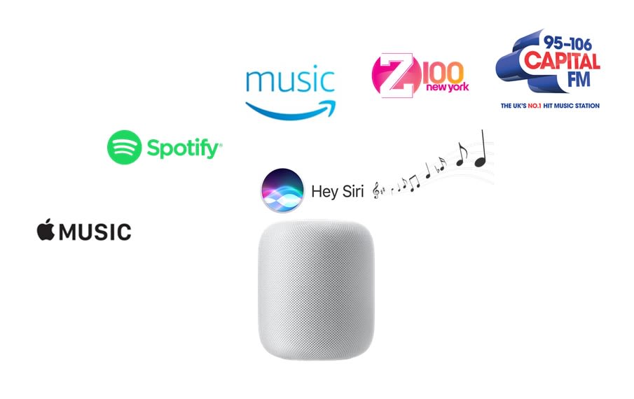 Apple HomePod Music Services