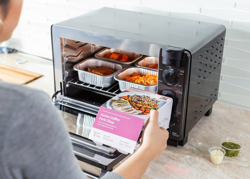 tovala smart oven and meal delivery service