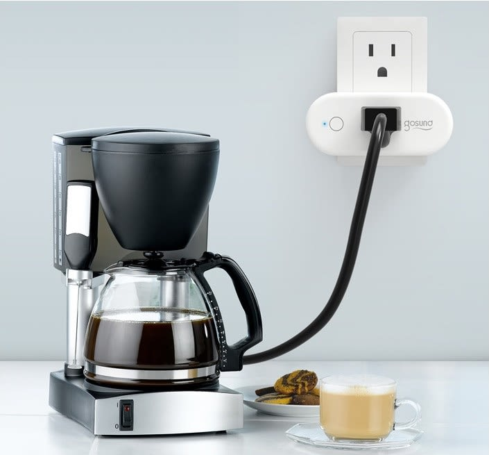 Gosund Smart Plug in Kitchen
