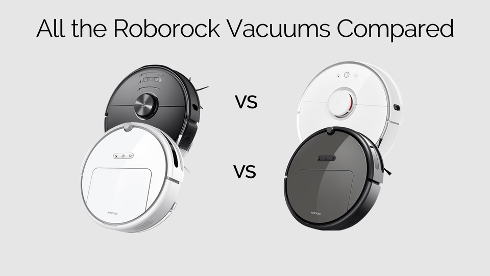 All roborock robot vacuums compared