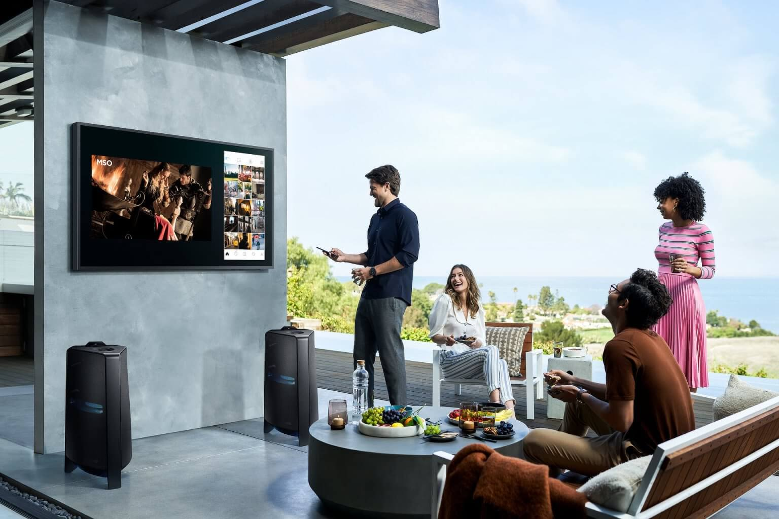 Terrace-Samsung-first-outdoor-4K-QLED-TV