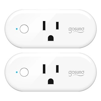 Energy Monitoring,No Hub Required 2 Packs Mini Wifi Smart Plug Compatible with Alexa,Voice Control,Timing Function Control Your Electric Devices from Anywhere