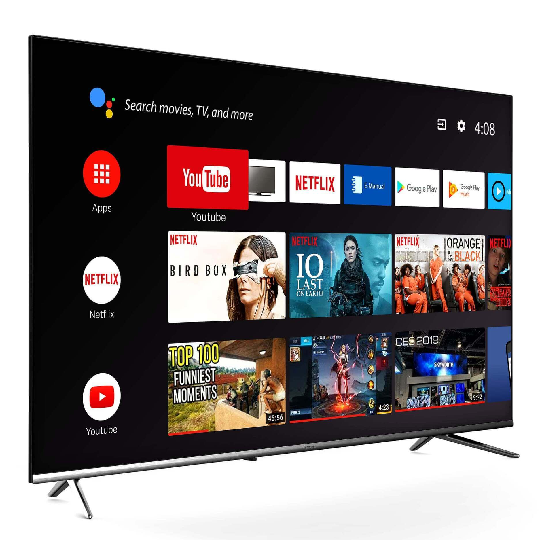 TV Android SKYWORTH serie E20