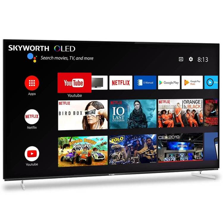 SKYWORTHXA8000シリーズAndroidTV