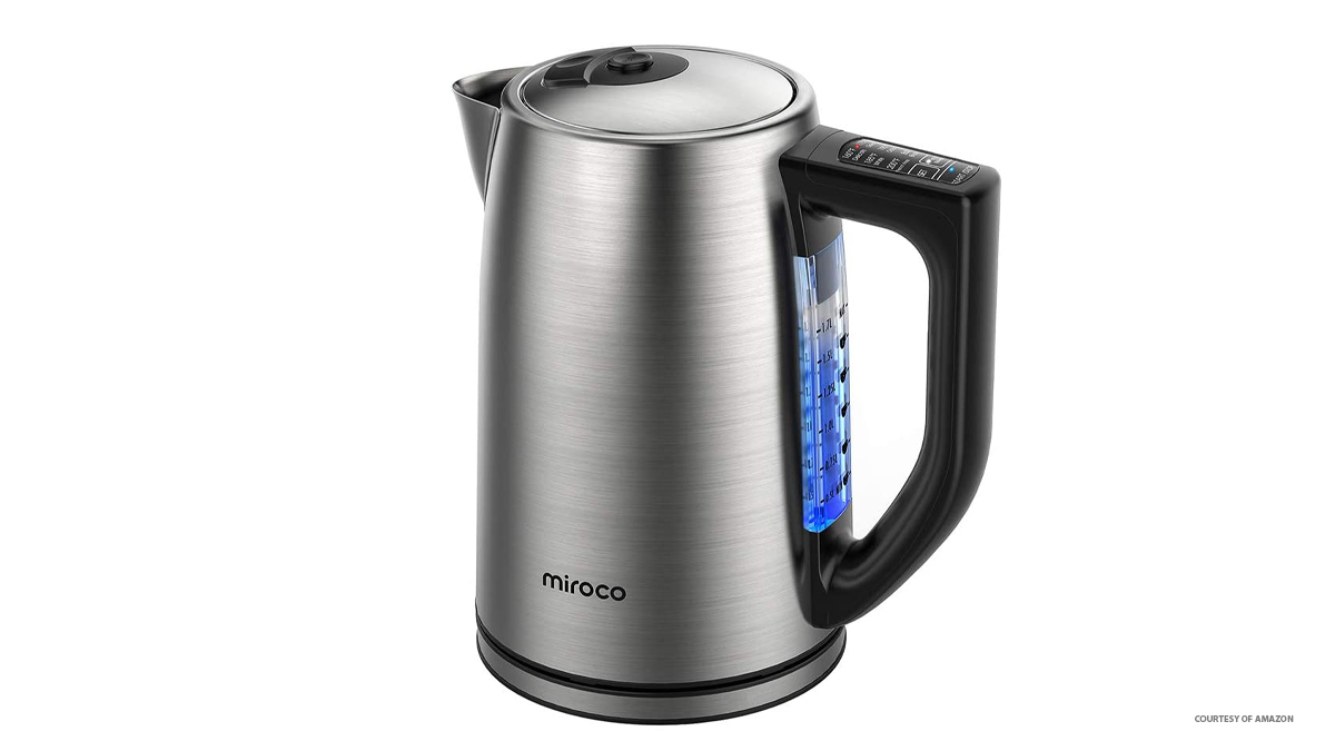 Miroco Electric Kettle Temperature Control Stainless Steel